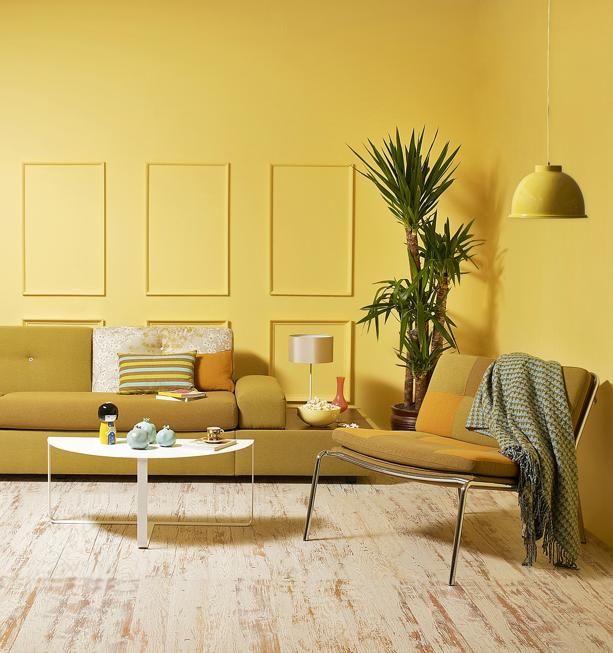 yellow in interior